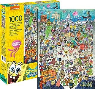 Aquarius Spongebob Squarepants Cast 1000 Pc Puzzle