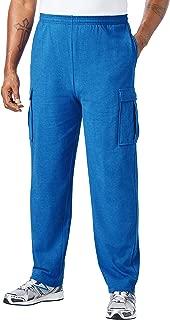 Men's Big & Tall Lightweight Cargo Sweatpants