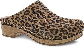 Dansko Women's Brenda Leopard Suede Mule 8.5-9 M US