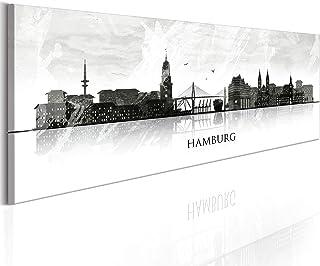 decomonkey Bilder Hamburg 150x45 cm XXL 1 Teilig Leinwandbil