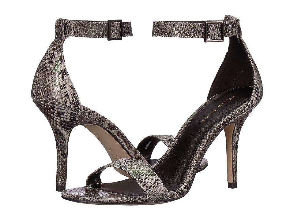 Pelle Moda Kacey (Pewter Luster Snake) High Heels