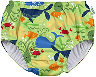 i play. by green sprouts Baby Pull-up Swim Diaper, Green Sealife, 4T