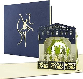 Schöne Verpackung für Konzertkarten, Theater, Musical, Bal
