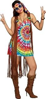Women's 1960's Tie-Dyed Hippie Hottie