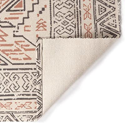 Artsano Moroccan Cotton Area Rug 3' x 5', Farmhouse Modern Geometric Collection Rugs Machine Washable Indoor Floor Mat Bohemian Runner Rug for Living Room, Coffee Table, Dining Area, Bedroom