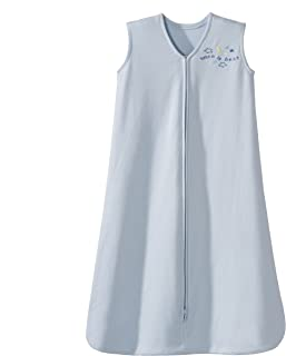Halo Sleepsack Cotton Wearable Blanket, Baby Blue, X-Large