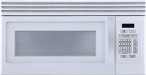 Black+Decker 1.6-Cu.Ft Over-the-Range Microwave - White (EM044KJN-P1)