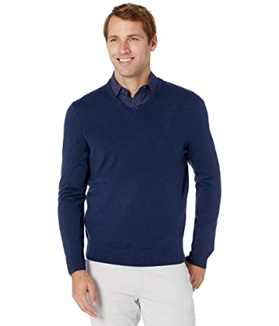 Calvin Klein Merino V-Neck Sweater (Blinda) Men