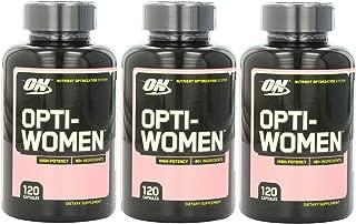 Optimum Nutrition 360 Opti-Women Women's Female Multivitamin Optiwomen Capsules
