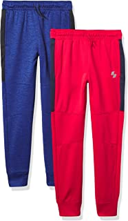 The Children's Place Boys' Sport Knit Performance Jogger Pants 2-Pack