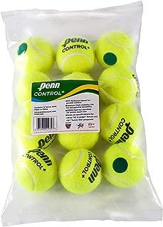 Penn Control Plus Tennis Balls - Youth Felt Green Dot Tennis Balls for Beginners