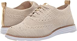 Brazilian Sand/CH Gold Metallic Knit/Optic White