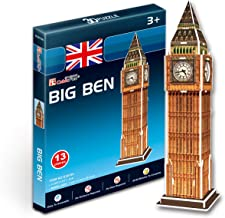 S3015h Cubic Fun 3d Puzzle Model London Big Ben (13pcs)