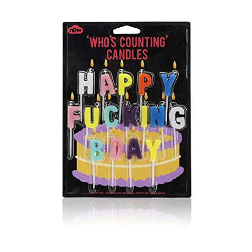NPW Birthday Cake Candle Decorations