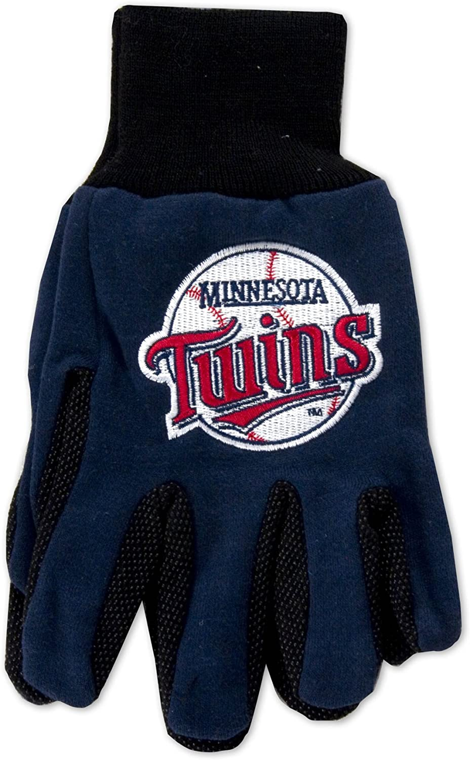 MLB Minnesota Twins Two-Tone Manufacturer OFFicial shop Blue Black Gloves Max 85% OFF