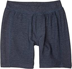 Cozy Knit Rib Panel Shorts (Toddler/Little Kids)