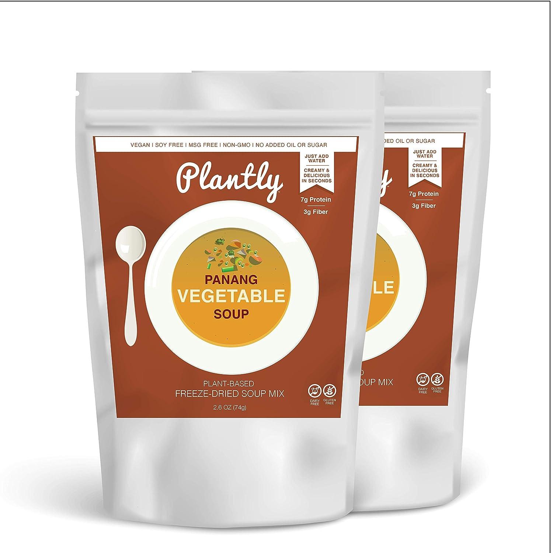 Plantly Nippon regular agency Panang price Vegetable Vegan Soup Mix D pack 2 4 servings
