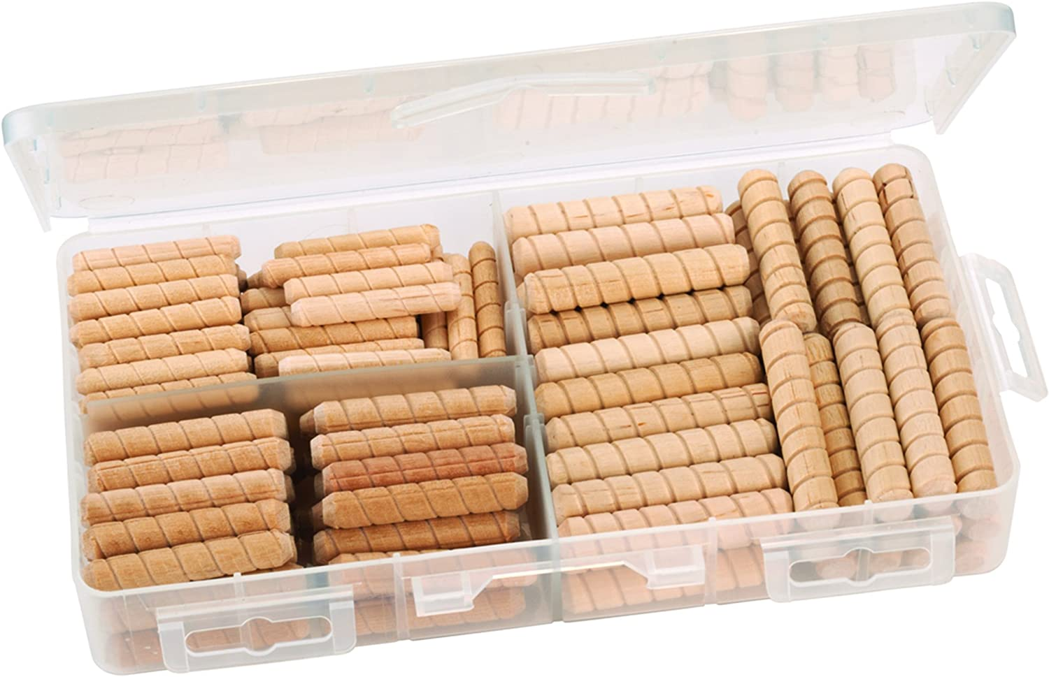 Max 87% OFF Assorted Size Max 47% OFF Spiral Groove 120-piece Dowel Pins
