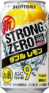 【糖類ゼロ プリン体ゼロ】 サントリー チューハイ-196℃ ストロングゼロ ダブルレモン [ チューハイ 350ml×24本 ]
