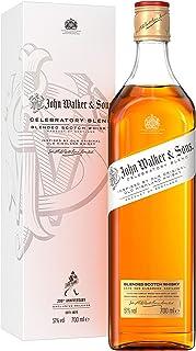 Johnnie Walker & Sons Celebratory Blend zum 200-jährigen Jubiläum, Blended Scotch Whisky, 70 cl im Geschenkkarton, 761359, 0.7 l