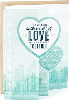 Hallmark Mahogany Romantic Father's Day Card for Husband or Boyfriend (Little World of Love)