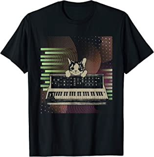 Sintetizador Modular Retro Productor de Música Analógica Camiseta