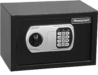 Honeywell Safes & Door Locks - 5101 Steel Security Safe with Hotel-Style Digital Lock, 0.27-Cubic Feet, Black