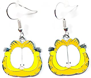 Garfield St Patricks Day Earrings