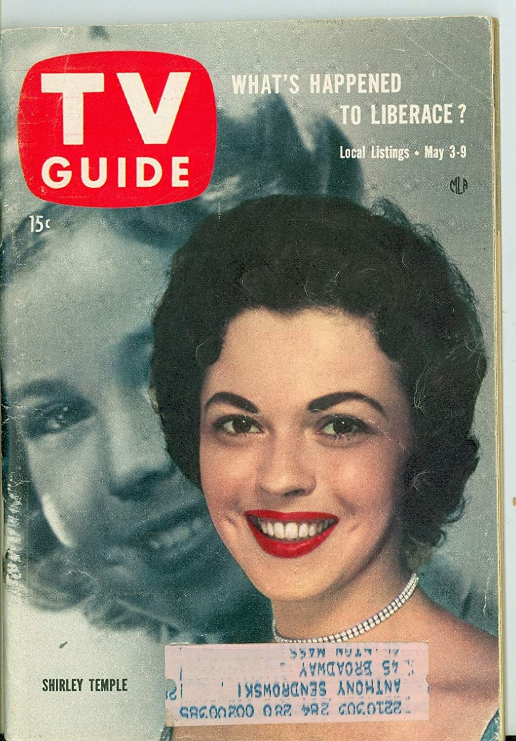 1958 TV Guide May 3 Shirley New Classic England Cover - Temple 5 ☆ very popular Recommendation