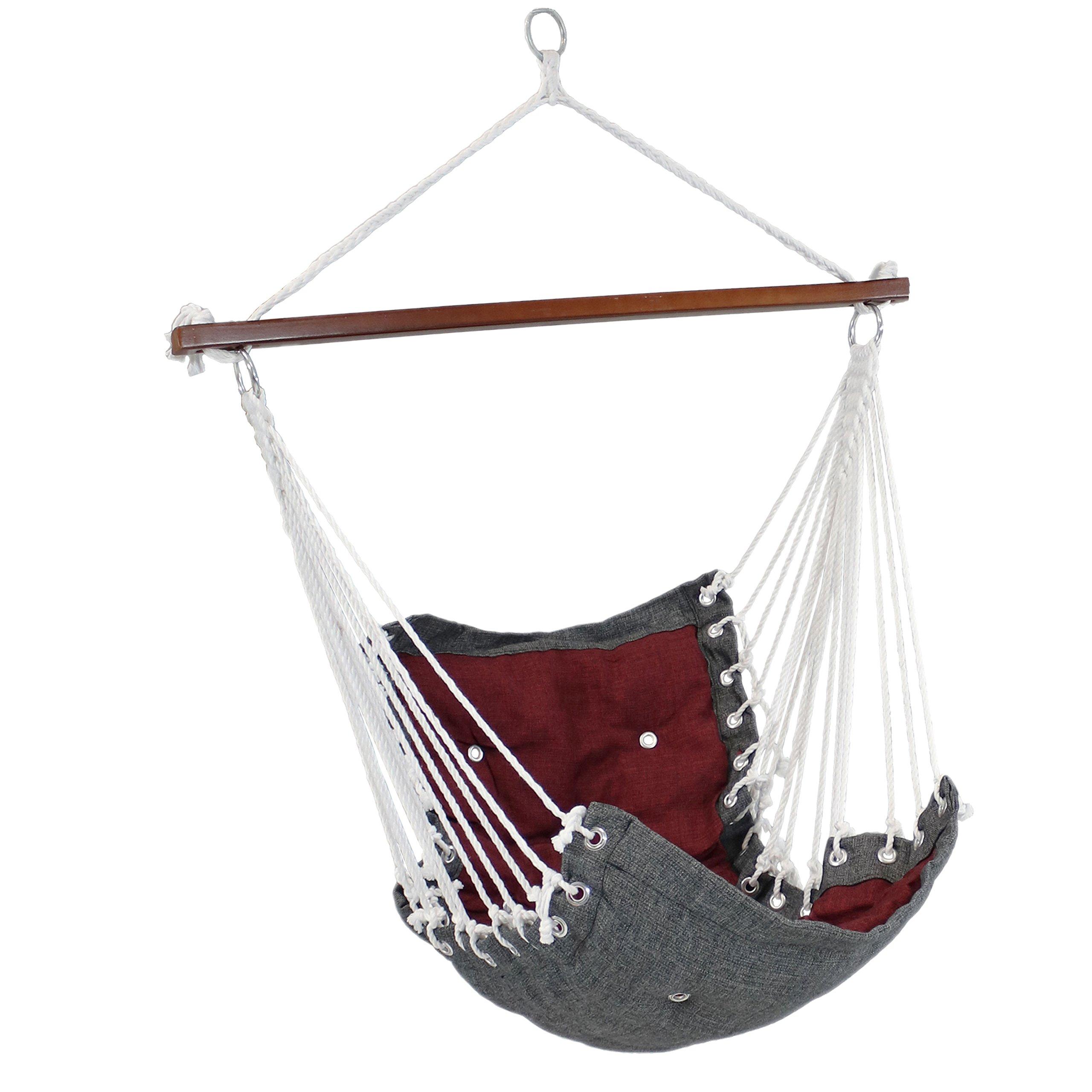 Sunnydaze Tufted Victorian Hammock Chair Buy Online In India At Desertcart
