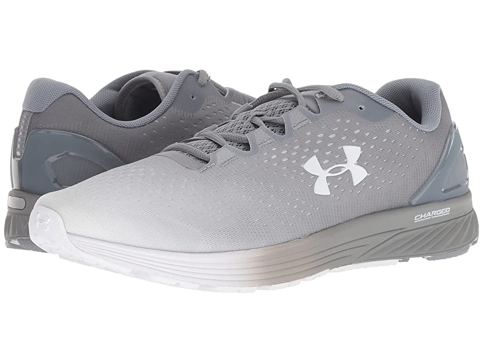 Under Armour UA Charged Bandit 4 (Steel/White/White) Men