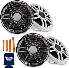 """$399 » Sponsored Ad - Fusion 2 Pairs XS-F77SPGW XS Series 7.7"""" 240-Watt Sports Marine Speakers"""