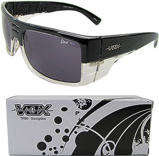 Vox TR90 Sport Sunglasses Unbreakable Superlight Wrap Full Frame UV 400 Cycling Fishing Golf