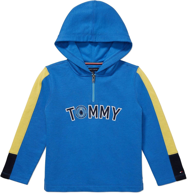 Tommy Hilfiger Boys Adaptive Hoodie Sweatshirt with Zipper Closure