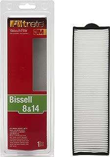 3M Filtrete Bissell 8 & 14 Allergen Vacuum Filter, Pack of 1