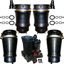 Suncore 60F-15-4-KIT Air Suspension System Incl. Front And Rear Air Spring Bags Compressor w/Dryer Air Suspension System