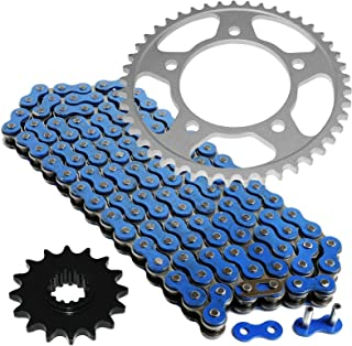 CALTRIC Blue Drive Chain and Sprocket Kit Fits HONDA CBR600F4 1999 2000 525-Chain