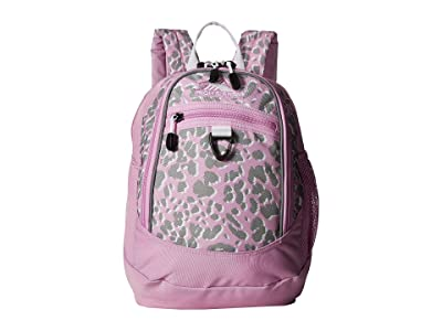High Sierra Mini Fatboy Backpack (Shadow Leopard/Iced Lilac/White) Backpack Bags