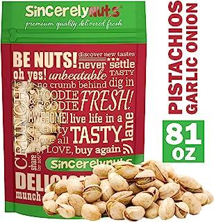 garlic onion pistachios recipe