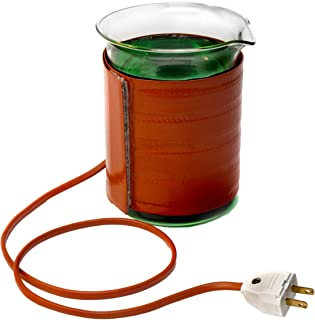 BriskHeat GBH1000-1 Beaker Heater Jacket with Velcro Fastener for 1000mL Griffin Beaker Diameter: 4.3-Inch, Height: 4.6-Inch, Width: 17.25-Inch (without Controller), 120VAC