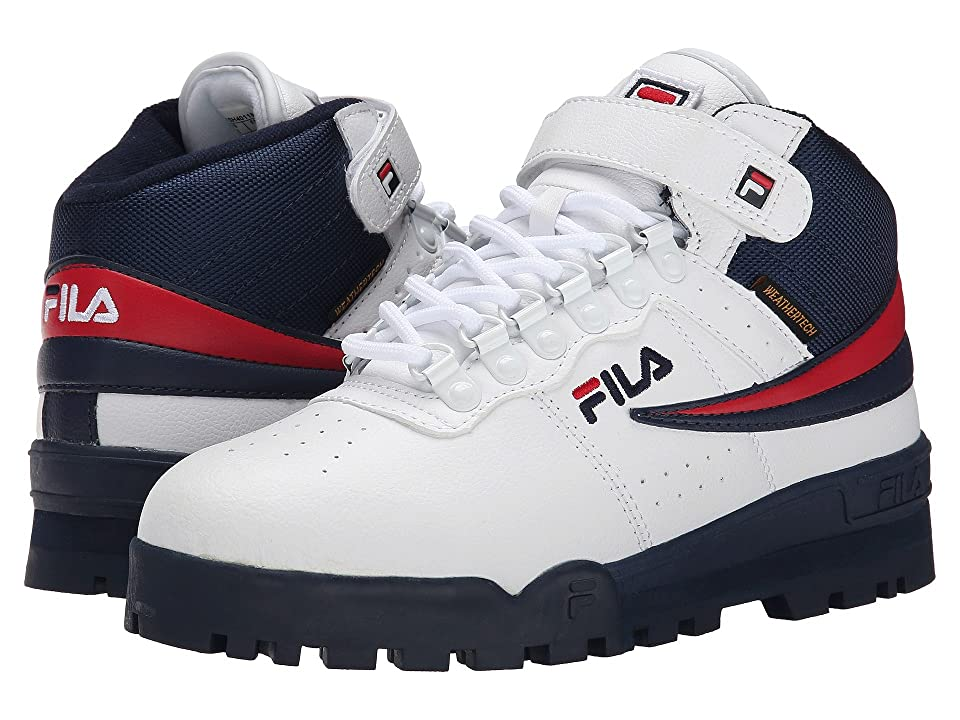 Fila F-13 Weather Tech (White/Fila Navy/Fila Red) Men