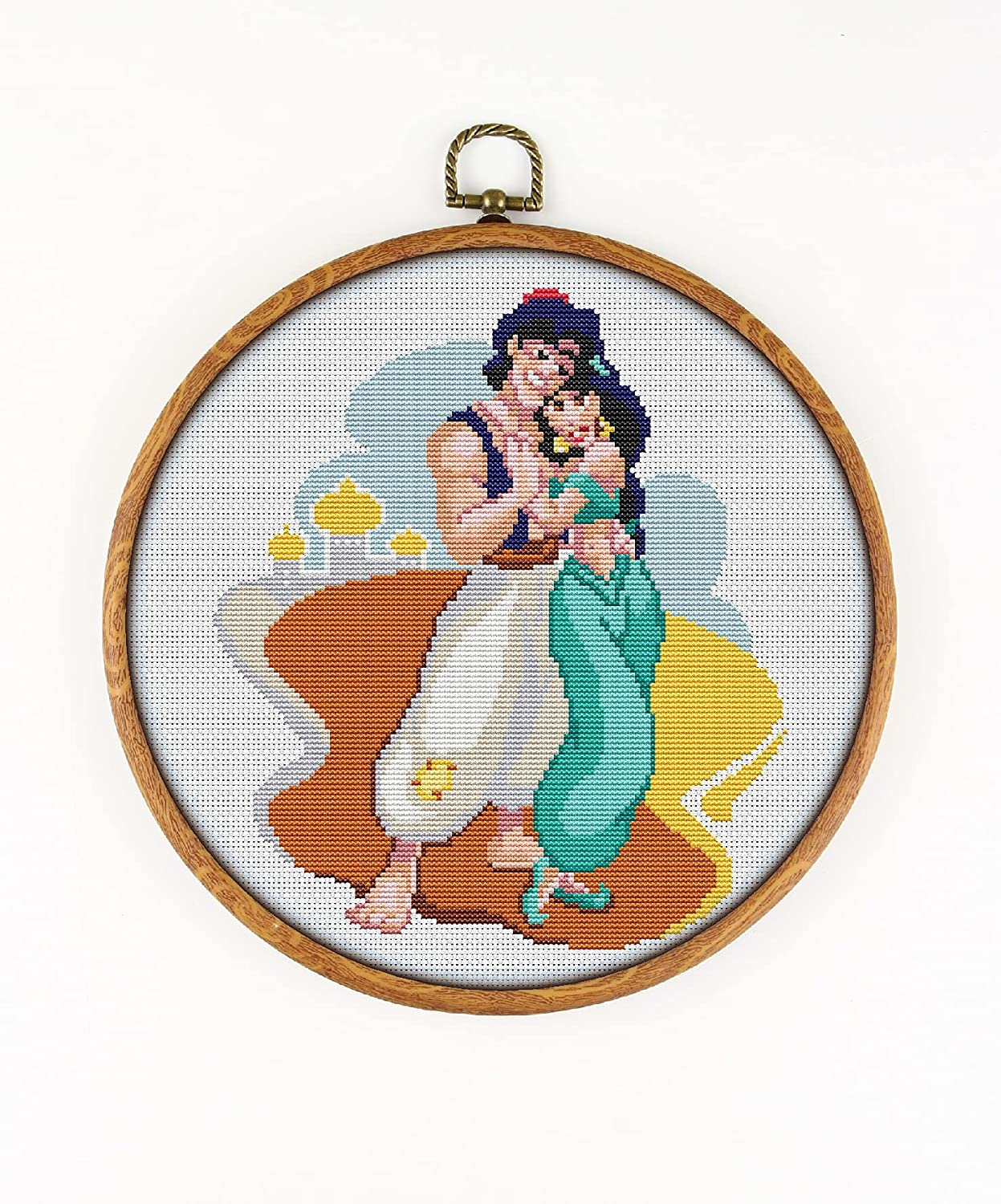 Aladdin and Special Campaign Jasmine K712-0 Counted Cross Stitch Pattern. Brand Cheap Sale Venue Printed