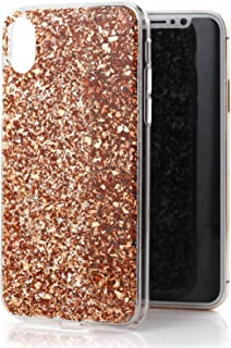 iPhone Xs/X Case, Luvvitt Brilliance Cover with Fashion Glitter Cute Design for Women Girls Teens for Apple iPhone Xs/X (2...