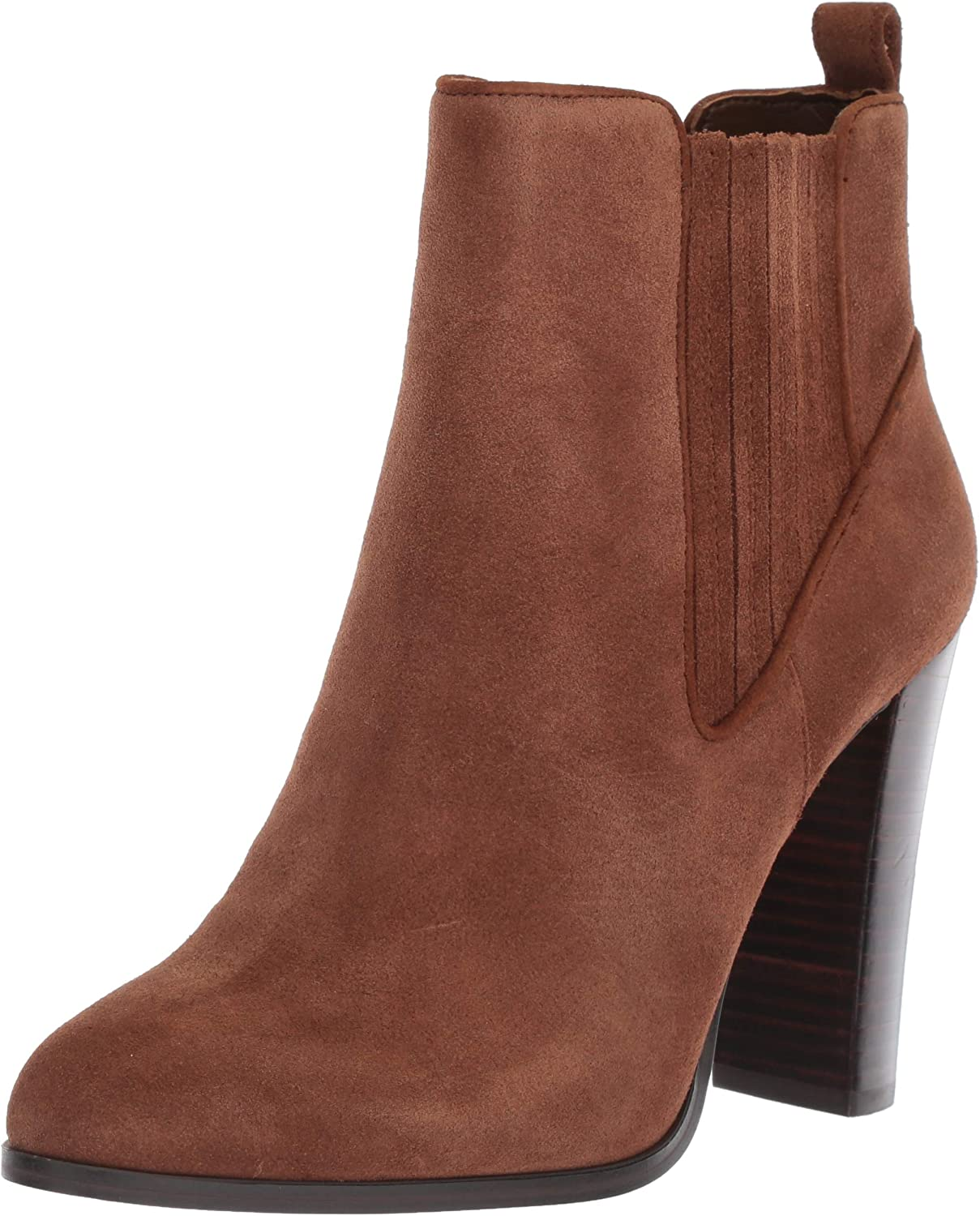 Nine West Womens Crimson Suede Ankle Boot