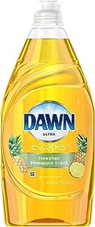 Dawn Ultra Escapes Dishwashing Liquid, Hawaiian Pineapple Scent, 21.6 Ounce