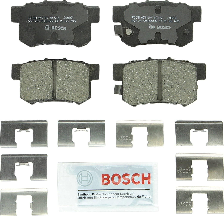 Bosch BC537 QuietCast Premium Ceramic Max 73% OFF Disc Set Pad Brake outlet Ac For:
