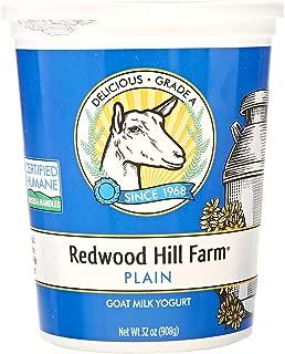 Redwood Hill, Goat Milk Yogurt, Plain, 32 oz