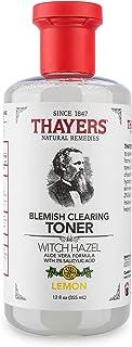 Thayers, Blemish Toner Witch Hazel, 12 Ounce