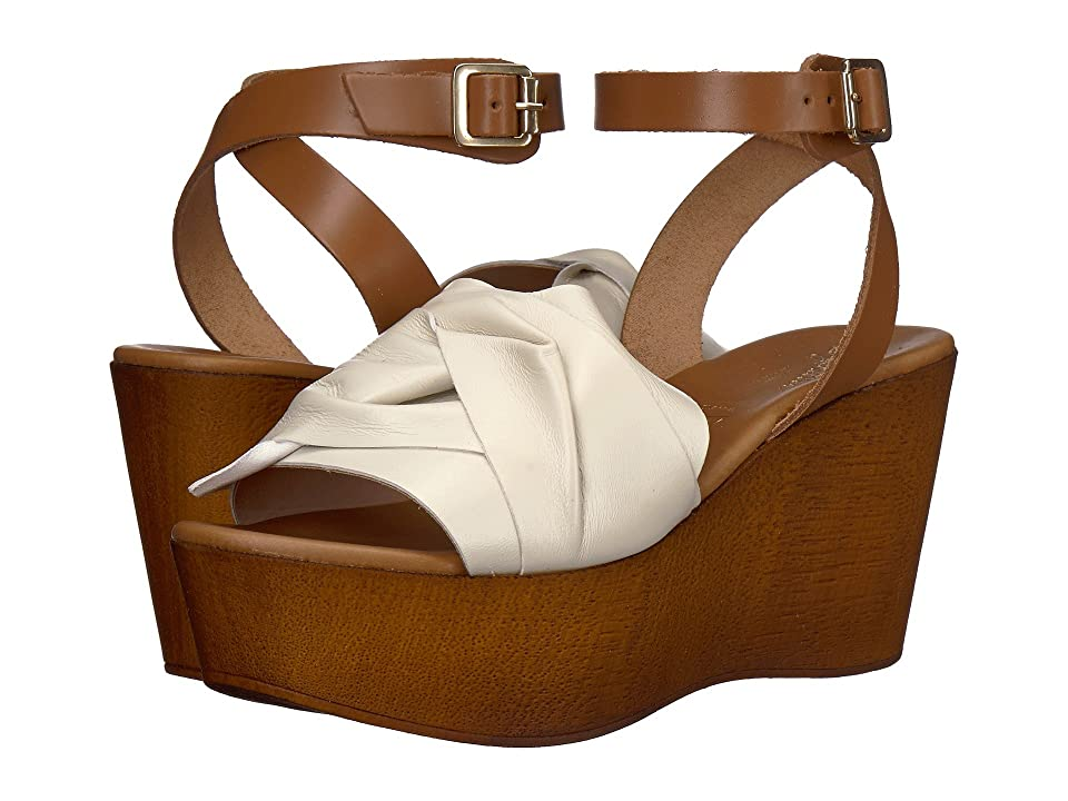 Seychelles Deep Breath (Off-White Leather) Women