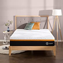 Zinus Queen Mattress 3 Zone Hybrid 30cm Cool Adaptive Fabric Copper Memory Foam Pocket Spring - Medium Feel